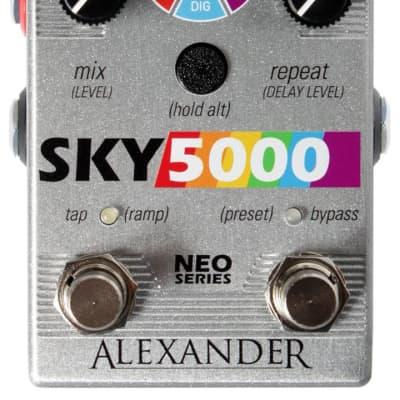 Alexander Pedals Sky 5000 Reverb Delay