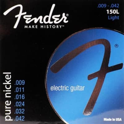 Fender Original 150 Pure Nickel Light Electric Guitar Strings