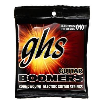 GHS GBZW Zakk Wylde Boomers Heavy Electric Guitar Strings (10-60) for sale