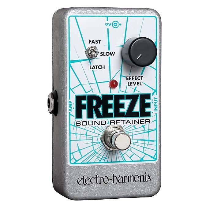 Electro-Harmonix EHX Freeze Sound Retainer Infinite Sustain Effects Pedal