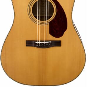 Fender PM-1 Paramount Standard Acoustic Natural With Case for sale