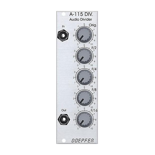 Doepfer A-115 Audio Divider Modul for Eurorack Modular