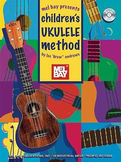 childrens ukulele method book  audio reverb