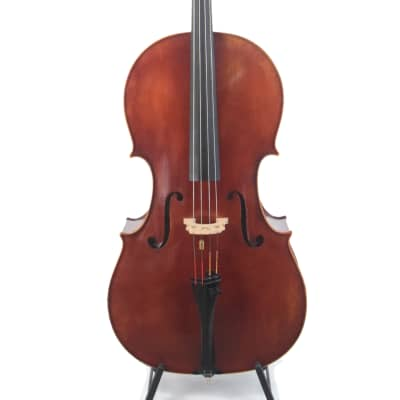 Cello, 1950 Labeled, Roderich Paesold, Meisterwerkstatt in Baiersdorf, PA605 Davidov 4/4 K12 1950 for sale