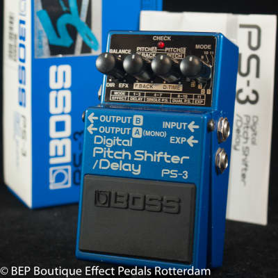 Boss PS-3 Digital Pitch Shifter/Delay 1994 s/n ZF91212 Pink Label, Josh Klinghoffer, Legowelt