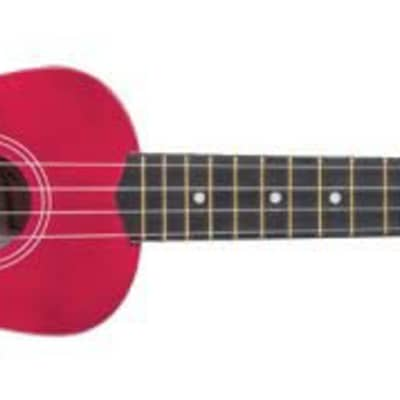 SAVANNAH SOLID RED UKULELE for sale