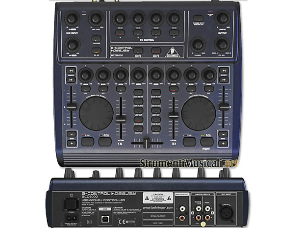 B-CONTROL DEEJAY BCD2000 TREIBER WINDOWS XP