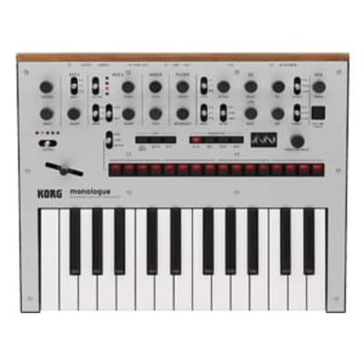 Korg Monologue Monophonic Synth Silver