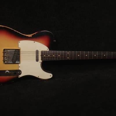 RebelRelic  61 T-Series 3-tone Sunburst Telecaster type for sale