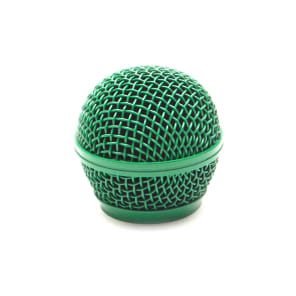 Seismic Audio SA-M30Grille-GREEN Replacement  Steel Mesh Mic Grill Head