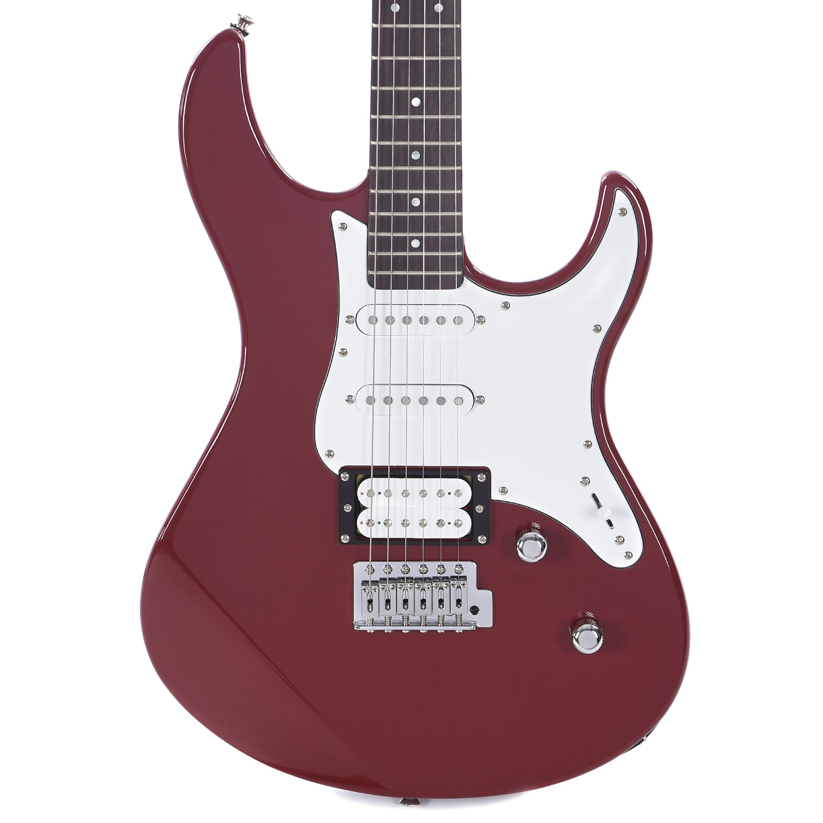 yamaha pacifica 112v electric guitar red raspberry. Black Bedroom Furniture Sets. Home Design Ideas