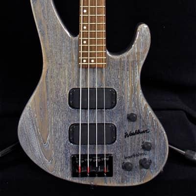 Washburn XB900 Bass 1996 Trans Blue for sale