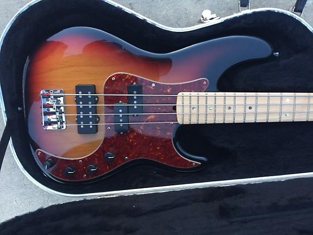 Fender American Deluxe Precision 2007 Sadowsky Preamp 8lb
