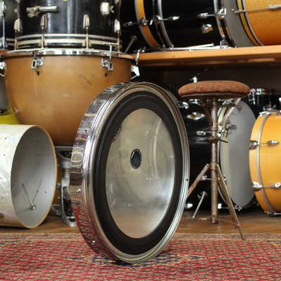 "1980's Ralph Kester 22"" 'Flat Jacks' Bass Drum"