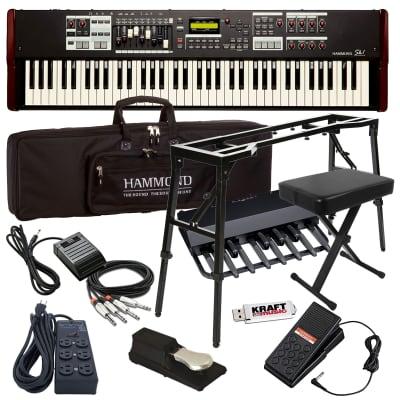 Hammond SK1-73 Portable Organ ULTRA BUNDLE