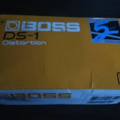 Boss Ds1 Distortion Pedal  2000s Orange