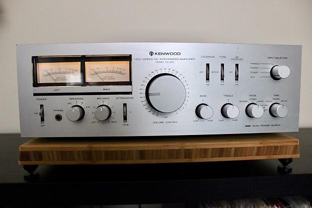 Kenwood KA-801 - Vintage Integrated Stereo Amplifier- For Parts or Repair