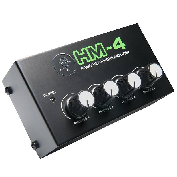 Mackie HM-4 Home Studio Recording Stereo 4-Way 1/4