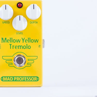 Mad Professor Mellow Yellow Tremolo Guitar Effects Pedal for sale