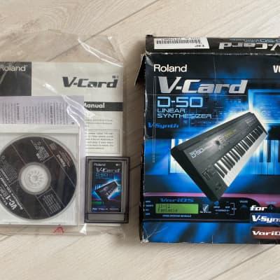 Roland VC-1 D-50 V-card