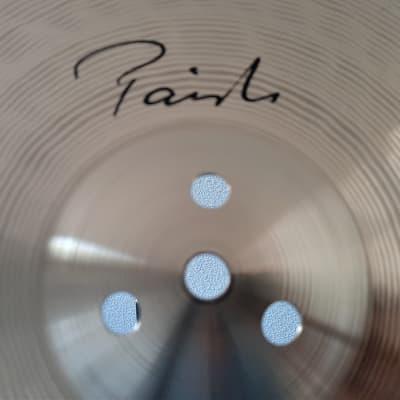 "14"" Paiste Signature CUSTOM Medium Hi-Hat Pair - An Even Faster Attack and Articulate Response!"
