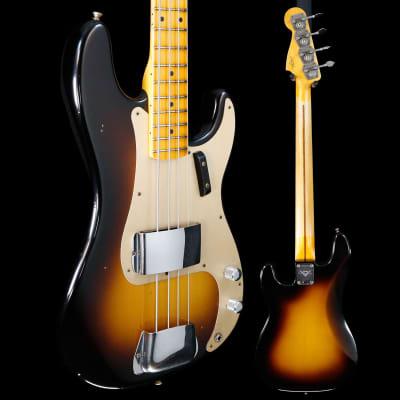 Fender Custom Shop 1957 Precision Bass Journeyman Relic, Maple Fb, Wide-Fade 2 Color Sunburst 475 8l for sale