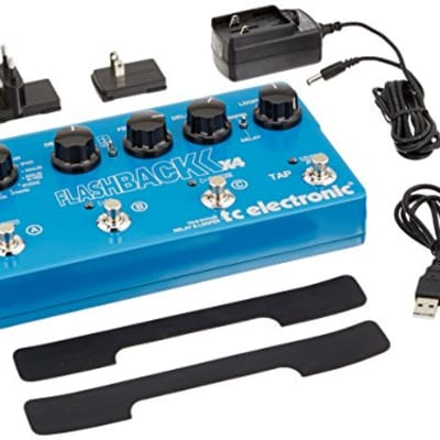TC Electronic Flashback X4 Guitar Delay Effects Pedal for sale