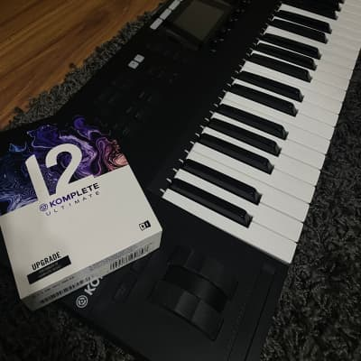 Native Instruments Komplete Kontrol S49 Mk2 Keyboard and Komplete Ultimate 12 Bundle