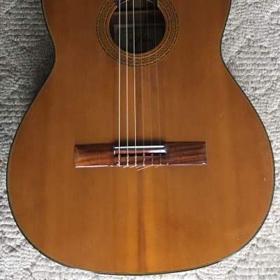 Aria A551B 1970's? vintage Japan classical guitar with pickup for sale