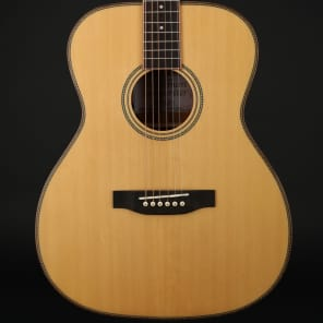 Freshman Songwriter OM All Solid Electro Acoustic in Natural with Hard Case for sale