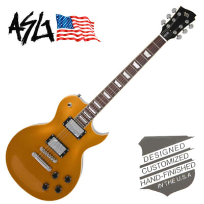 ASG Nocturne Goldtop LP style Guitar *Made in Korea *Worldwide FAST S/H