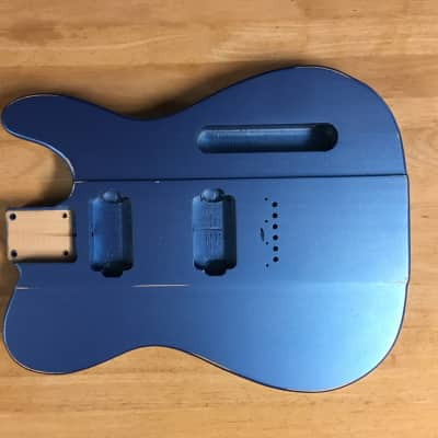 Rosser TFB Tele Firebird 2016 Pelham Blue Eastern White Pine for sale