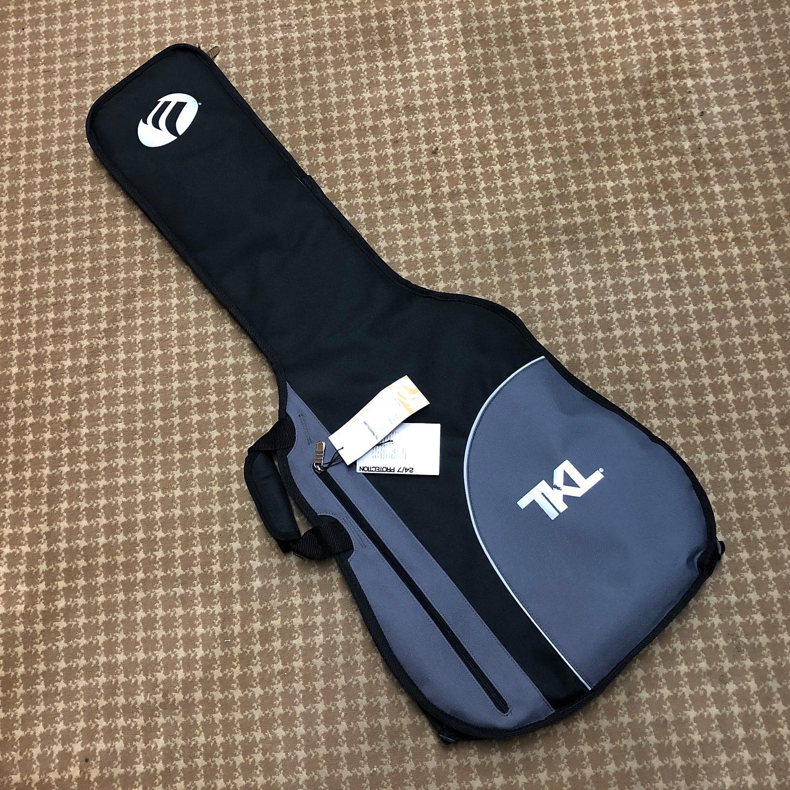 TKL 4630 Black Belt Universal Electric Guitar Soft Case Gig Bag