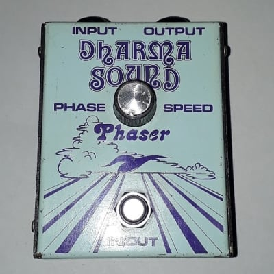 Dharma Sound Phaser 70's  - Masterpiece of Stombox History - All Original Parts