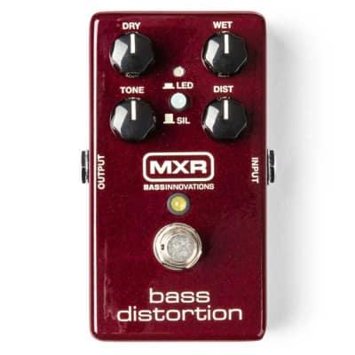 MXR M85 Bass Distortion Bass Guitar Effects Pedal for sale