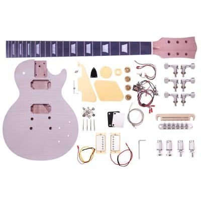 Artist LPFDIY Classic Flame Do it Yourself Guitar Kit for sale