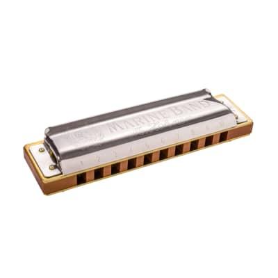 Hohner Marine Band 1896 Harmonica Key of F#