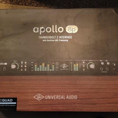 Universal Audio Apollo 8p QUAD Thunderbolt 2 Audio Interface
