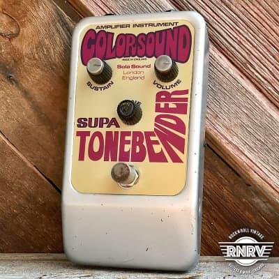 Colorsound Supa Tonebender Fuzz for sale