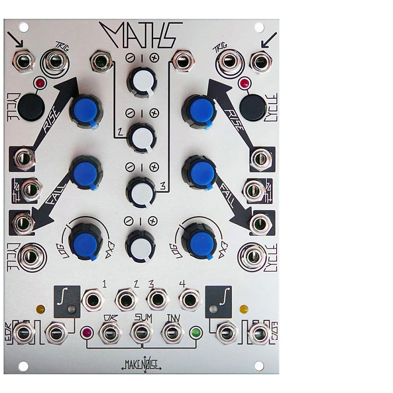 make noise maths eurorack modular synth analog computer reverb