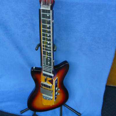 MEL-O-BAR 1977 Sunburst w/ Hard Shell Case for sale