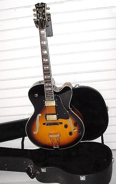 1996 samick hf 650 bluenote artist series full jazz guitar w reverb. Black Bedroom Furniture Sets. Home Design Ideas