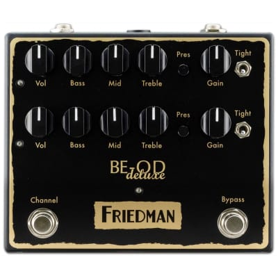 Friedman BE-OD Deluxe Overdrive 2018