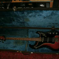 1966 Baldwin by Burns Jazz bass guitar with case made in England UK for sale