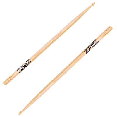 Zildjian 5ACW Hickory Series 5A Wood Acorn Tip Drum Sticks