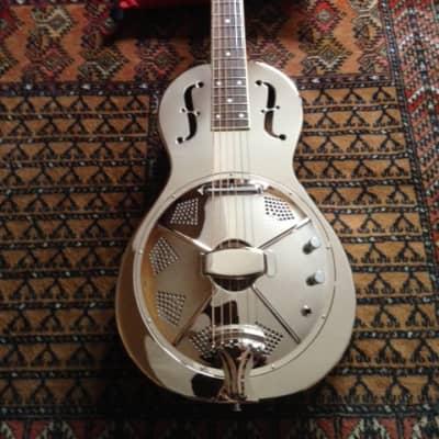 Aiersi guitare resonateur parlor silver électrique 2020 argent for sale