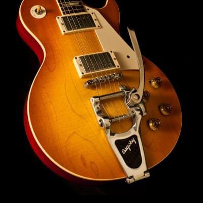 Gibson Les Paul Standard 1958 Sunrise Tea Burst Bigsby Murphy Aged 2011 for sale
