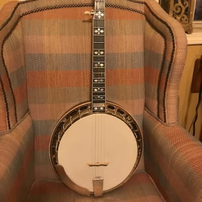 Gold Star GF-100HF Mahogany Banjo for sale
