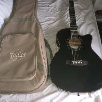 Harley Benton EAX500TL 2018 Black with Taylor Gig Bag for sale