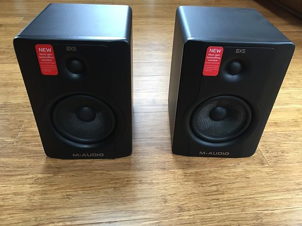 M-Audio BX5 d2 studio monitors MINT | Individual seller